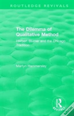 Wook.pt - : The Dilemma Of Qualitative Method (1989)