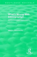 : What'S Wrong With Ethnography? (1992)