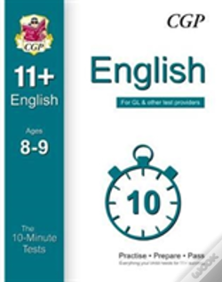 Wook.pt - 10-Minute Tests For 11+ English Ages 8-9 - For Gl & Other Test Providers