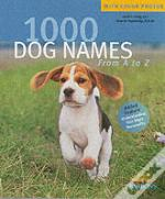 1000 Dog Names From A-Z