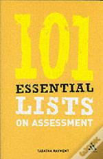 101 Essential Lists On Assessment