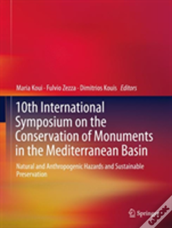 Wook.pt - 10th International Symposium On The Conservation Of Monuments In The Mediterranean Basin