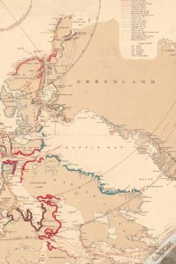 Wook.pt - 1904 Map Of Northern Canada, Greenland, And Alaska