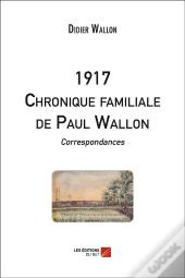 1917 ; Chronique Familiale De Paul Wallon ; Correspondances