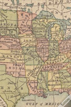 Wook.pt - 19th Century Map Of The United States