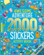 2000 Stickers Blue