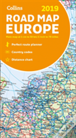 2019 Collins Map Of Europe