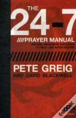 24- 7 Prayer Manual