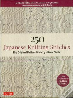 Wook.pt - 250 Japanese Knitting Stitches