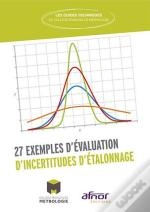 27 Exemples D Evaluation D'Incertitudes D Etalonnage