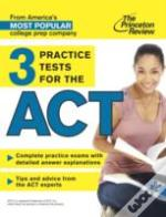 3 Practice Tests For The Act