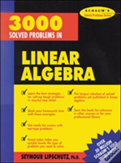Wook.pt - 3000 Solved Problems In Linear Algebra