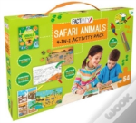 4-In-1 Activity Pack Safari Animals