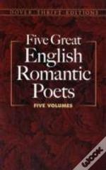 5 Great English Romantic Poetsboxed Set: Lyric Poems / Selected Poems / Favorite Poems / The Rime Of The Ancient Mariner And Other Poems / Selected Poems