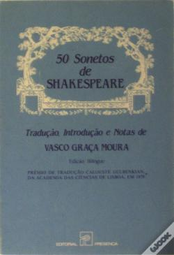 Wook.pt - 50 Sonetos de Shakespeare
