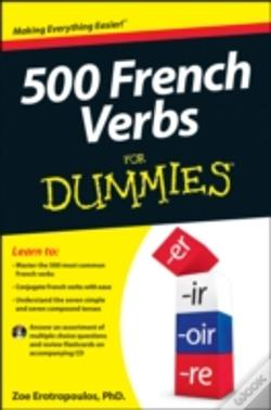 Wook.pt - 500 French Verbs For Dummies