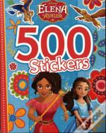500 Stickers ; Elena D'Avalor
