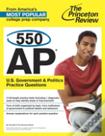 550 Ap U.S. Government And Politics Practice Questions