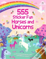555 Sticker Fun Horses & Unicorns