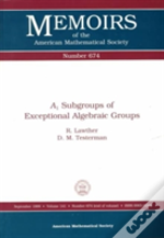 A-1 Subgroups Of Exceptional Algebraic Groups