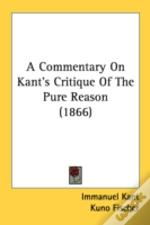 A Commentary On Kant'S Critique Of The P