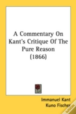Wook.pt - A Commentary On Kant'S Critique Of The P