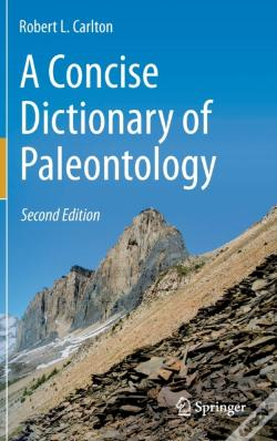 Wook.pt - A Concise Dictionary Of Paleontology