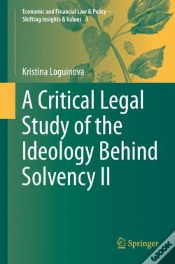 Wook.pt - A Critical Legal Study Of The Ideology Behind Solvency Ii