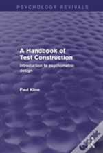 A Handbook Of Test Construction