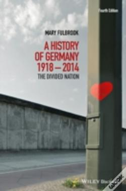 Wook.pt - A History Of Germany 1918-2008