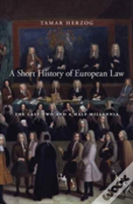 A Short History Of European Law 8211