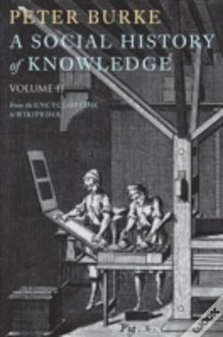 Wook.pt - A Social History Of Knowledge Ii