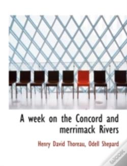 Wook.pt - A Week On The Concord And Merrimack Rive
