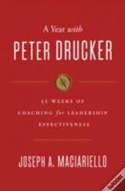 Wook.pt - A Year With Peter Drucker