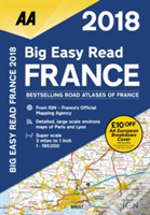 Aa Big Easy Read Atlas France