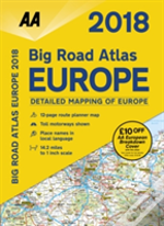 Aa Big Road Atlas Europe