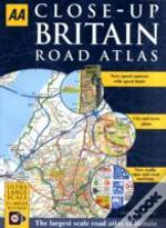 Aa Close-Up Britain Road Atlas