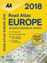 Aa Road Atlas Europe