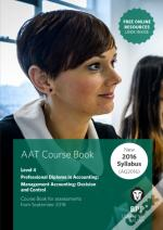 Aat Management Accounting Decision & Control