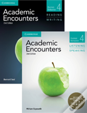 Academic Encounters Level 4 2-Book Set (R&W Student'S Book With Wsi, L&S Student'S Book With Integrated Digital Learning)