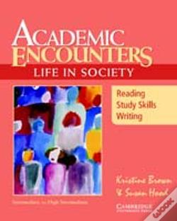 Wook.pt - Academic Encounters: Life In Society Student'S Book