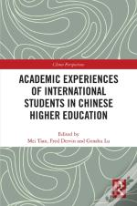 Academic Experiences Of International Students In Chinese Higher Education