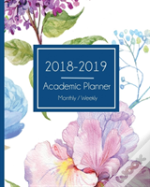Academic Monthly Planner 2018-2019