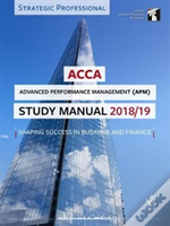 Acca Advanced Performance Management Study Manual 2018-19