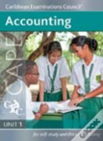 Accounting Unit 1 Cape - For Self-Study And Distance Learning