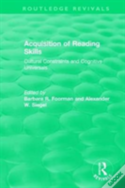 Wook.pt - Acquisition Of Reading Skills (1986)