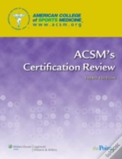 Wook.pt - Acsm'S Certification Review