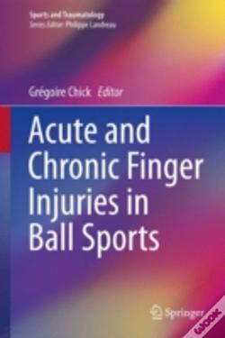 Wook.pt - Acute And Chronic Finger Injuries In Ball Sports