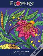 Adult Coloring (Flowers)