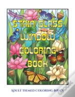 Adult Themed Coloring Books (Stain Glass Window Coloring Book)